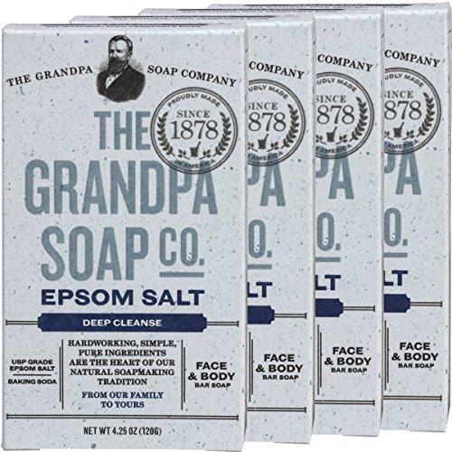 Grandpas Epsom Salt Soap Ounces product image