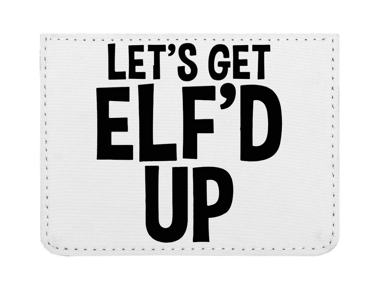 Let's Get Elf'd Up Étui pour Cartes de crédit de Poche