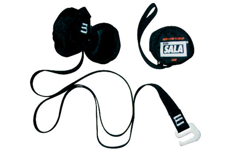 3M DBI-SALA 9501403 Fall Protection Full Body Harness Accessory, Suspension Trauma Safety Straps, Black
