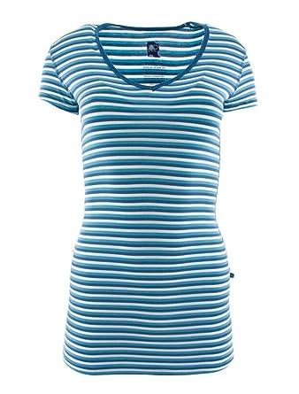 749297b0a8c Kickee Pants Print Short Sleeve One Tee - Confetti Anniversary Stripe (M)
