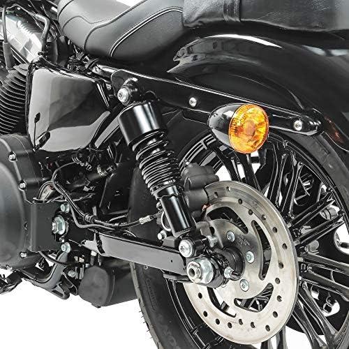 Ammortizzatore 10,5 per Harley Sportster 883 Hugger abbassamento nero