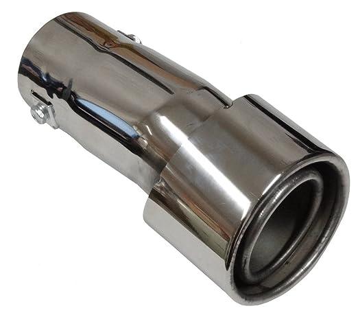 1 opinioni per Aerzetix- Terminale di scarico in acciaio inox lucidato estetico per auto