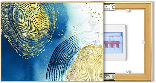 LITING Contador eléctrico de decoración de la Caja Pintura Moderna ...
