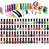100-pc All About Nail Package - Assorted 100 Nail Set - Lacquers Art Clipper, File and more