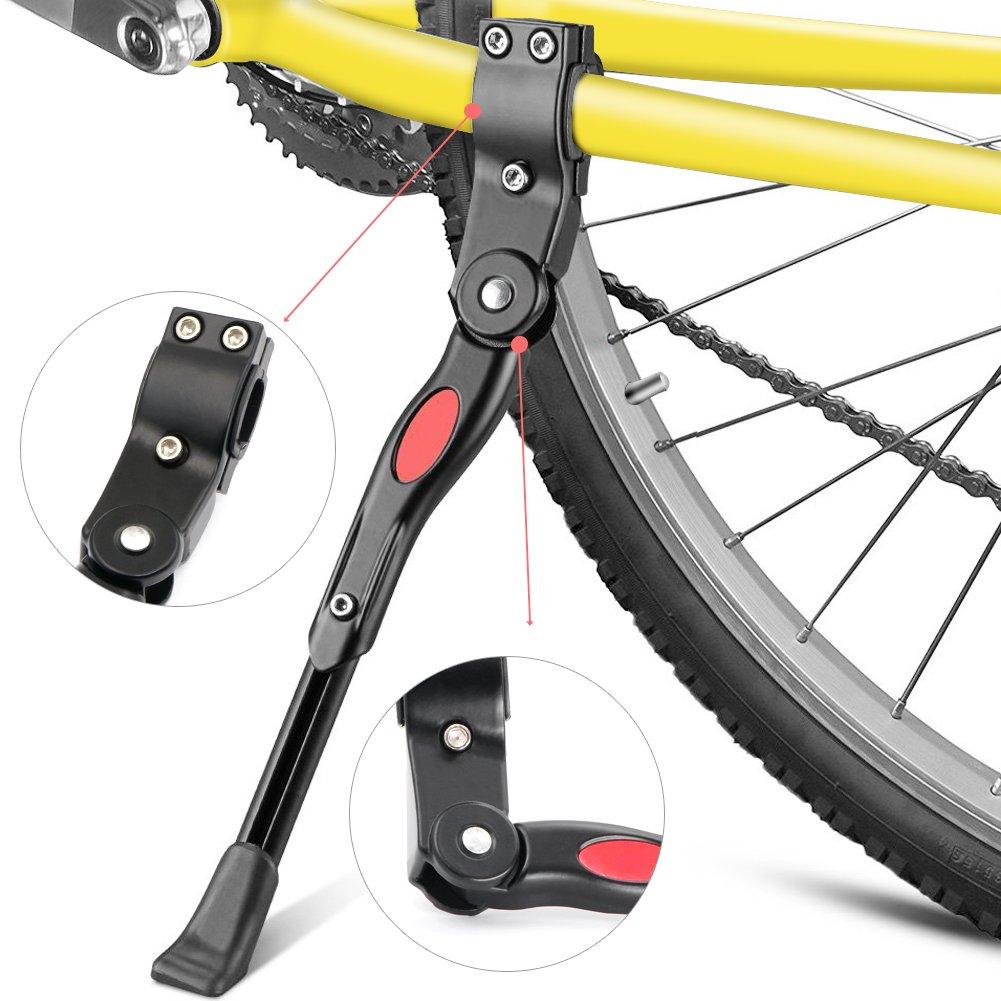 Fahrradständer,Yica Fahrrad Seitenständer Faltbarer einstellbarer ...