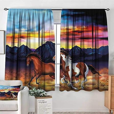 Amazon Com Familytaste Western Kitchen Curtains Running