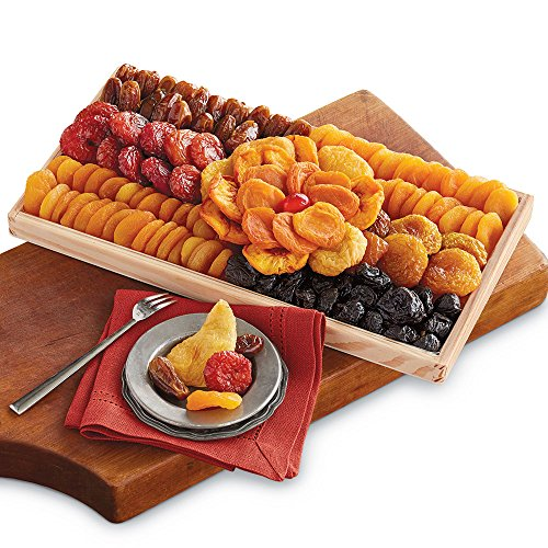Deluxe Fruit Dried Tray (Harry & David Deluxe Dried Fruit Tray)