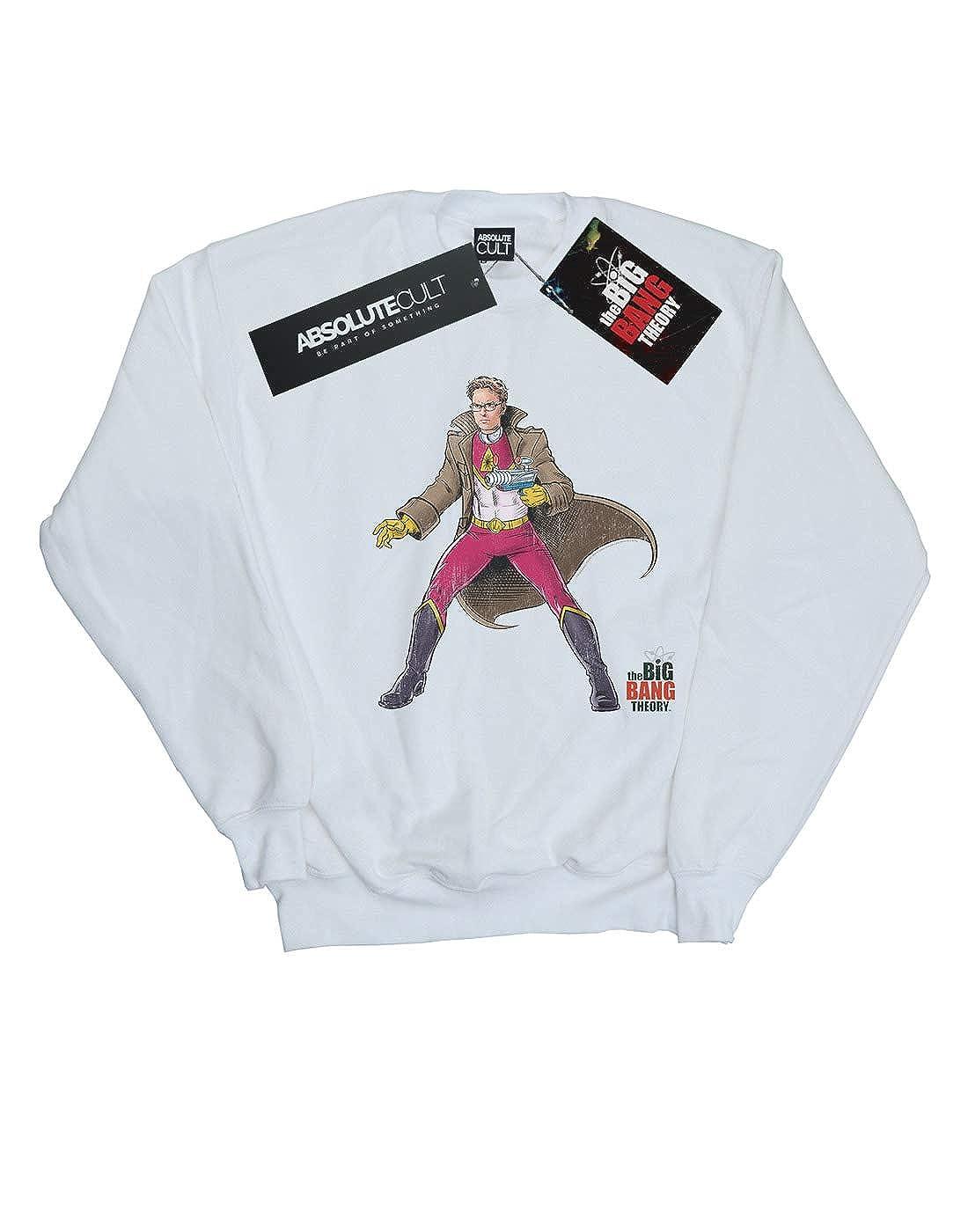The Big Bang Theory Girls Leonard Superhero Sweatshirt