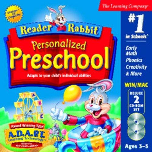 READER RABBIT PER PRESCHOOL DLX 2CD JC