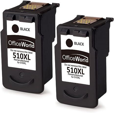 OfficeWorld PG-510XL Remanufacturado Canon PG-510 Cartuchos de ...