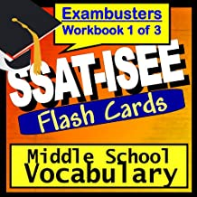 SSAT-ISEE Test Prep Essential Vocabulary Review Flashcards--SSAT-ISEE Study Guide Book 1 (Exambusters SSAT Study Guide)