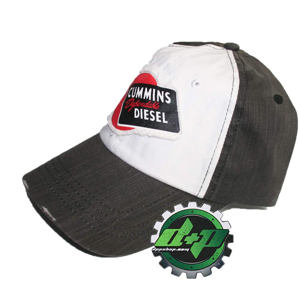 Amazon.com  Dodge Cummins Diesel Dependable Ball Cap Hat Distressed Vintage  Look  Clothing 8e958ccde9d
