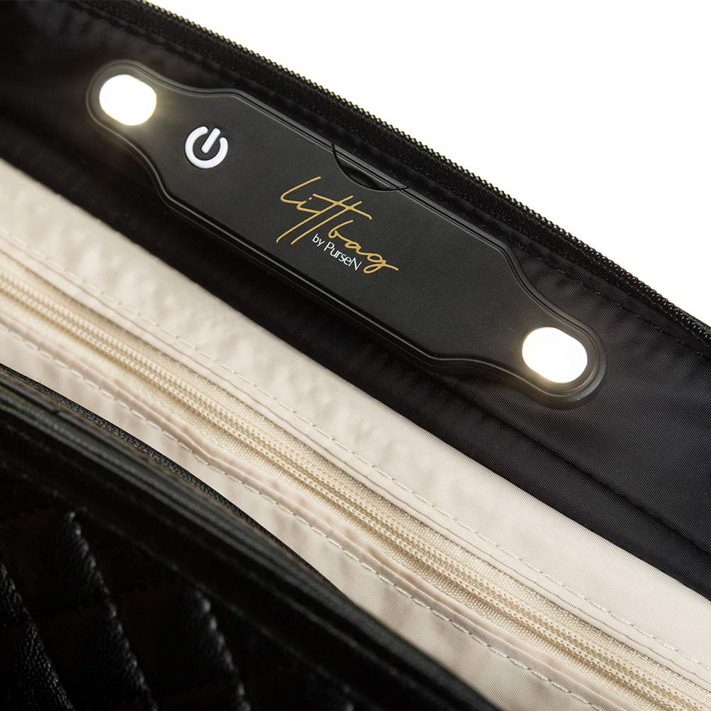LittBag by PurseN LED Lighted Organizer Insert for Handbags Purses by PurseN (Image #5)