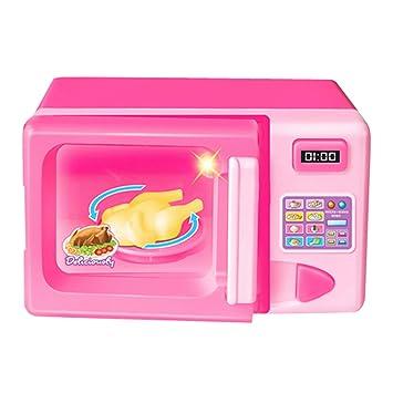 Winthai Mini simulación Linda Horno de microondas Cocina ...