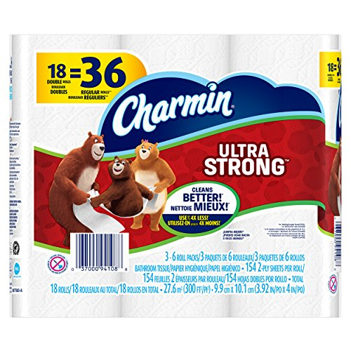 Charmin Ultra Strong Toilet Paper, 18 Count