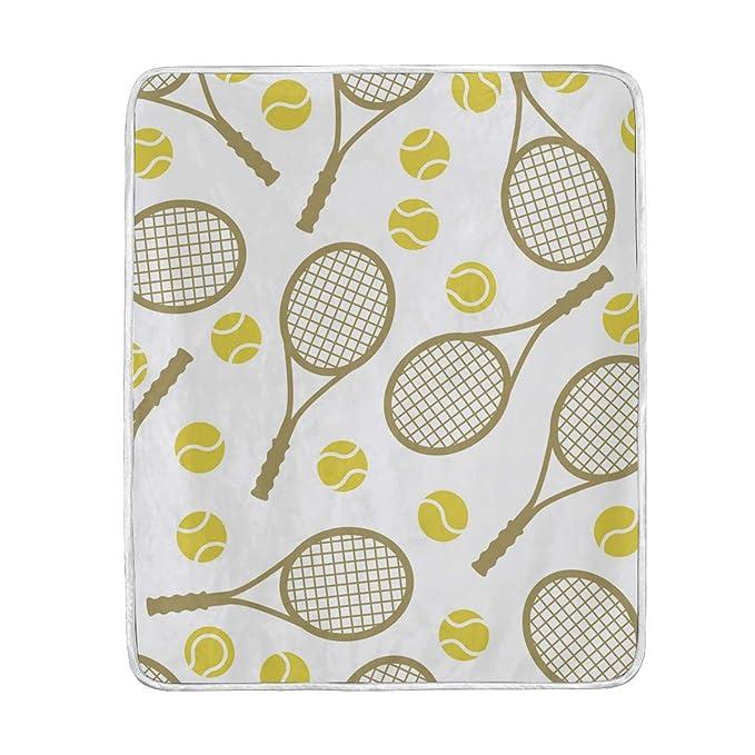 CPYang - Manta de Microfibra Suave para Raqueta de Tenis, 127 x ...