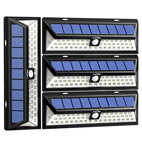 Solar Panel Backyard Lights in US - 4