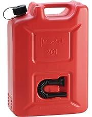 Hünersdorff 802060 Jerry Can Profi, red, 20 L