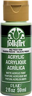 product image for FolkArt Acrylic Paint, 2 oz, Fresh Fern