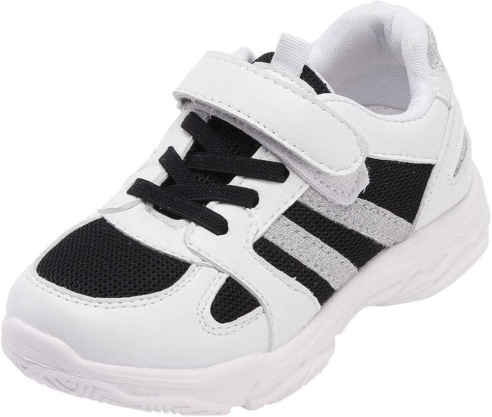YanHoo Zapatos para niños Malla Dorado Brillante Zapatos para ...