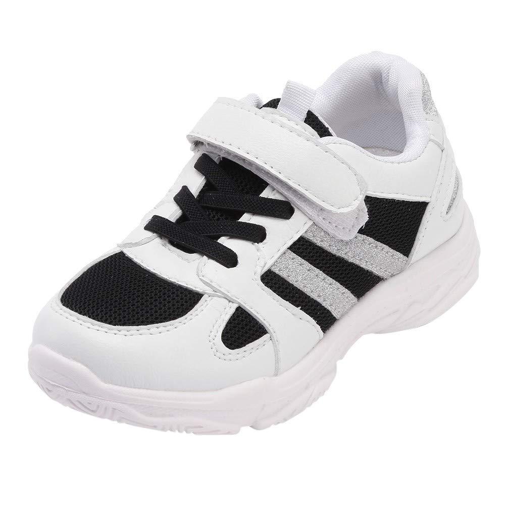 KUKICAT Basket Enfant Chaussures de Course Respirantes en Mesh, Chaussure de Outdoor Unisexe Sport Running Soldes Confortable Shoes