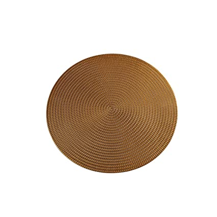 Tapis De Table Rond En Pvc Solide Anti Calcaire