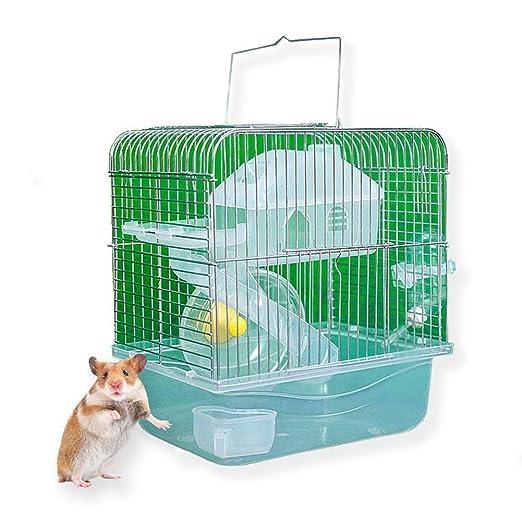 XY-kennel Suave Jaula de Color Transparente for Hamster Casa de ...