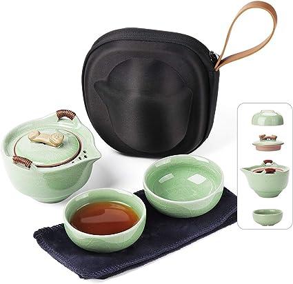 Tea set Teapot Lotus Flower Tea Pot and Tea Cup Chinese Classic Elegant Gaiwan