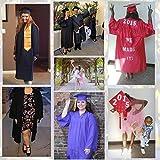Graduationmall Shiny Graduation Gown Cap Tassel Set