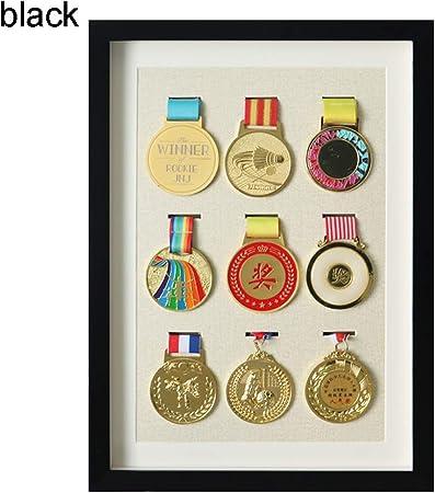 XIBALI Espositore per medaglie in Legno,espositore,Adatto per medaglie e distintivi Militari,medaglie Sportive,Vari Colori e Dimensioni