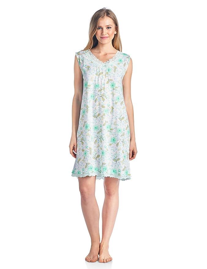 Casual noches para pijamas de mujer 2 piezas camisón y bata Set - Verde -: Amazon.es: Ropa y accesorios