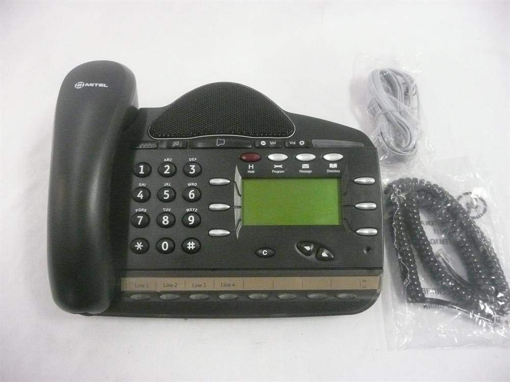 Mitel 1250 (Inter-Tel 4110) LR5829.06200 (618.5115/51012939) 8 Button Digital Telephone (Renewed)