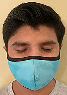 product image for Made in USA Fashion Protective Face Masks Unisex Washable Cotton Mask Hand Made… (Mint)