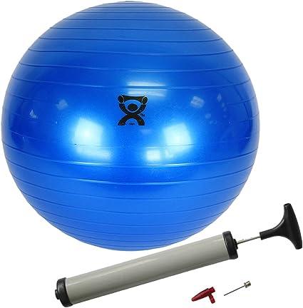 Amazon.com: Cando pelota hinchable de ejercicio – azul – 12 ...