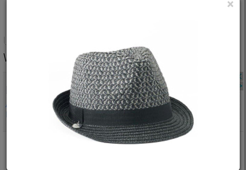 Ladies Wide Brim J Lo Style Floppy Outdoor Fashion Sun Protection Hat Grey