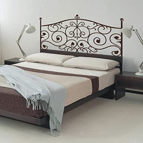 Vinilo adhesivo decorativo para cabecero de dormitorio de pared, para cabecero de cama (33