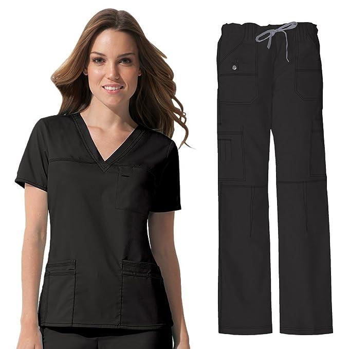 c53a2350d5f Dickies Gen Flex Women's Junior Fit 'Youtility' 817455 Top & 857455 Cargo  Pant Medical