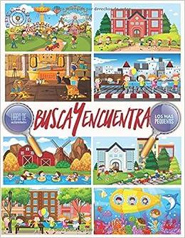 Busca Y Encuentra Libro De Actividades Para Los Mas Pequeños Spanish Edition De Libros Pixa árbol 9798612228646 Books