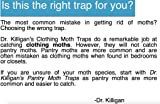 Dr. Killigan's Premium Clothing Moth Traps with