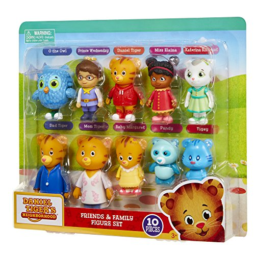 Daniel Tiger S Neighborhood Friends And Family Figure Set