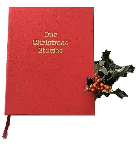 Meminio Our Christmas Stories, Libro de recuerdos de Navidad, de ...