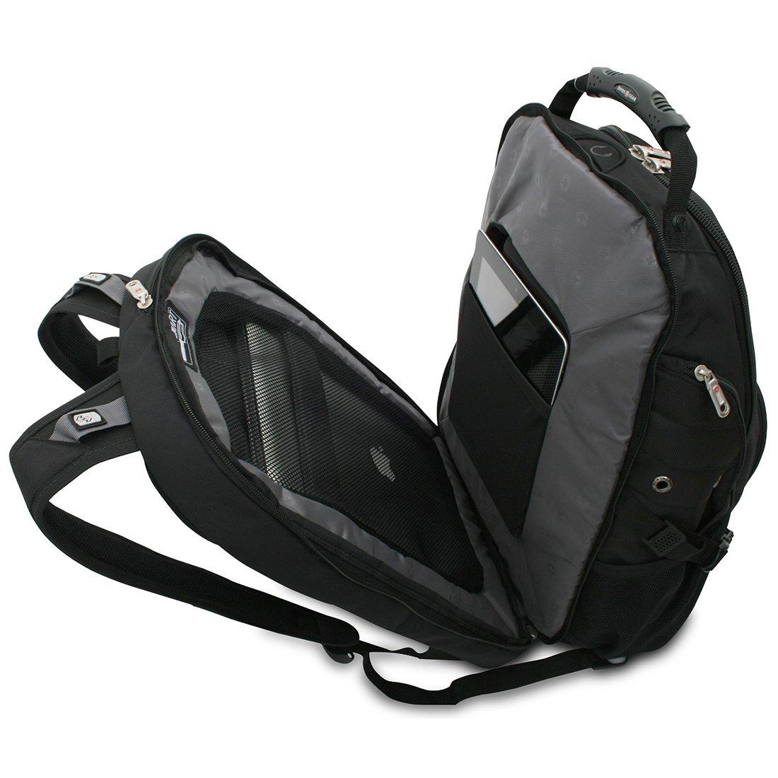 Amazon.com: SwissGear ScanSmart Laptop Backpack (Blue): Computers ...
