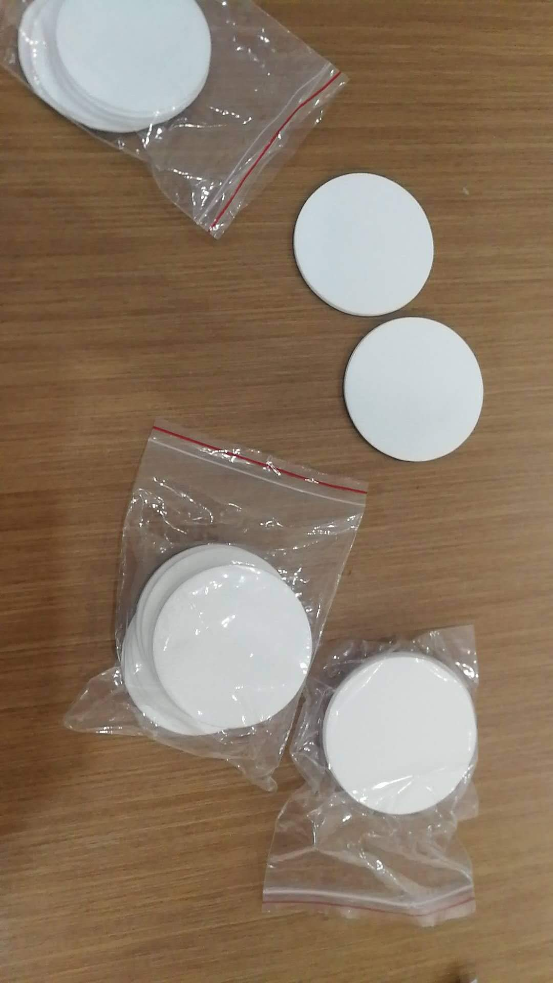 12 Synthetic Filter Discs 90mm for a Buchner Funnel and Cut Them fit''Wide Mouth'' Size Used for Mushroom Cultivation by Amazing-us