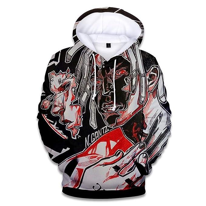 Unisex Xxxtentacion Abrigo con Capucha Sudadera con Capucha Cool Harajuku  Casual Hip Pop Rapper 3D Digital Impresión Hoodie Sweatshirt Tops para  Hombre y ... 695c6efc7bb