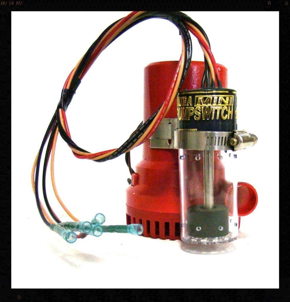 Ultra Safety Systems Pump Switch Mini UPS-06-12 V Float Switch Bilge Pump Switch