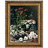 Design Toscano Spring Flowers, 1864: Canvas Replica Painting: Grande
