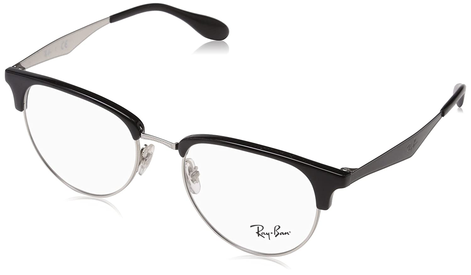 Ray-Ban rx6396 Brille in Silber RX6396 2932 51: Amazon.de: Bekleidung