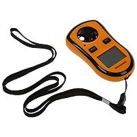 TOOGOO(R) Portable Handheld Digital Wind Speed ??Meter Anemometer Thermometer Wind speed indicator, gauge, sensor Wind speed meter indicator, manometer, sensor