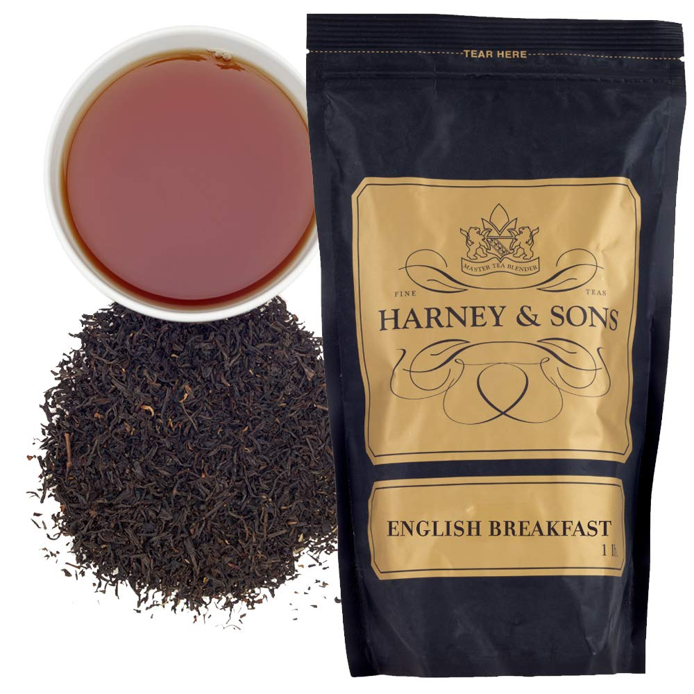 Harney & Sons English Breakfast Tea, Loose Leaf, 16 Ounce