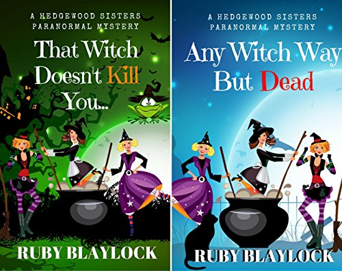 Hedgewood Sisters Paranormal Mystery (2 Book Series)